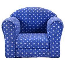 amazon com costzon kid sofa armrest chair w stars blue kitchen