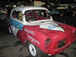 pujo car wimbledon a to z of banger racing