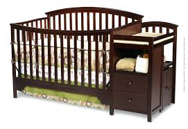 Changing Tables Babies R Us Cherry Crib Chager With Attached Changing Table Babies R Us