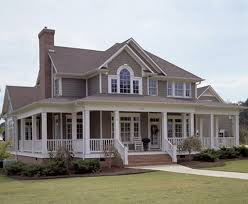 farmhouse wrap around porch floor plans home design ideas hahnow
