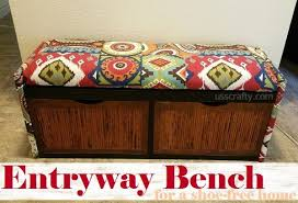 Entryway Storage Bench Upcycled Entryway Storage Bench Hometalk