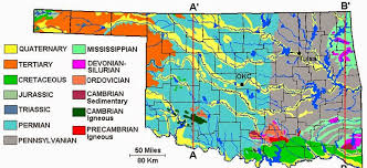 map ok panhandle csms geology post roadtrip oklahoma central plains and panhandle
