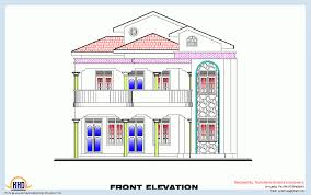 Kerala Home Design Floor Plan And Elevation by Plan And Elevation Drawing 3 Bedroom Home Plan And Elevation