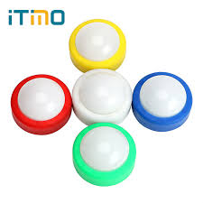 stick on lights for closets itimo led night light push tap stick activity cabinet closet touch