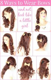 in hair bow 8 ways to wear bows in your hair ma nouvelle mode