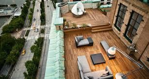 rooftop patio rooftop patio design ideas wood flooring dedon captivatist dma