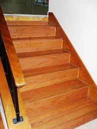 Installing Hardwood Flooring On Stairs How I Install Refacing Solid Wood Stairs Flooring Picture Post