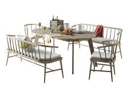 3d model west elm dexter dining set cgtrader