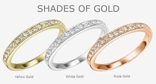 gold metal rings images Shades of gold different variations of gold and what they are made jpg