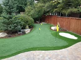 imposing ideas backyard putting green easy salt lake city backyard