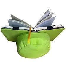 cuscino per leggere a letto supporto per libri per leggere a letto cuscino di lettura