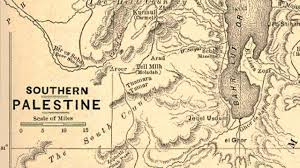 A New Map Of Jewish by Palestine Before Israel Maps Youtube