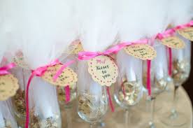 bridal shower party favors modern bridal shower with a pink gold black color