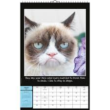 Grumpy Cat Mini Wall Calendar - grumpy cat poster 2018 wall calendar calendars com