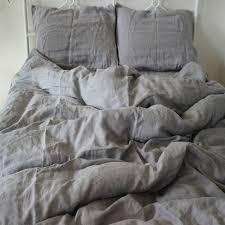 linen bedding pink or dusk rough linen bed set bedinabag linen