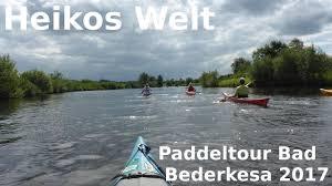 Bad Bederkesa Mit Dem Kajak Von Bad Bederkesa Zum Flögelner See Paddeln Youtube