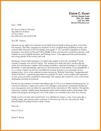 job interest letter gallery letter format examples