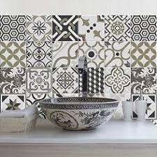 credence autocollant cuisine carrelage autocollant sticker adhésif carrelage salle de bain