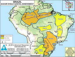 Brazil On South America Map by Brazil Frack Free Rocks