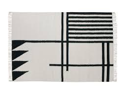 Black Large Rug Designer Handmade Rugs Contemporary Kilim Rugs Nest Co Uk