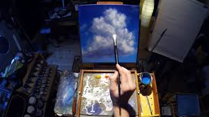 towering cumulus cloud acrylic painting lesson preview youtube