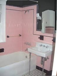Vintage Bathroom Tile Ideas Colors Best 25 Pink Bathroom Tiles Ideas On Pinterest Pink Bathtub