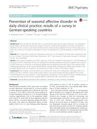 ls for seasonal affective disorder reviews prevention of seasonal affective disorder pdf download available