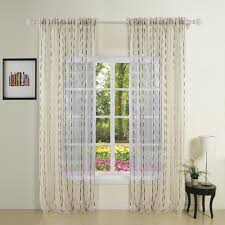 die cut fancy white sheer curtain sheer sheercurtain custommade