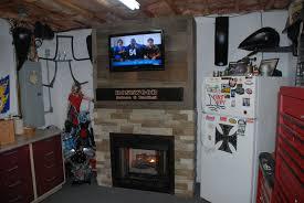 fireplace surround redneck diy
