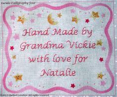 Wedding Quilt Sayings Avoiding Quilt Labels Quilt Labels Owl And Studio