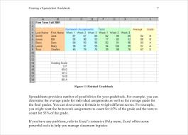 Grade Book Template Excel Grade Sheet Template 32 Free Word Excel Pdf Documents