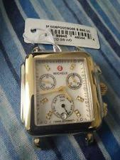deco 16 two tone 18 michele deco watches used ebay