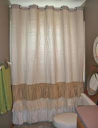 ruffled shower curtain ruffle shower curtains ruffles and shabby