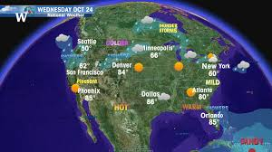map of weather forecast in us wednesday weather outlook united states windows of the world