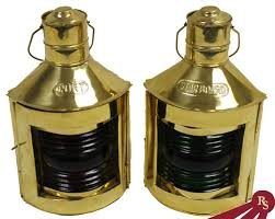 authentic brass nautical lamps worthy of lighthouse keepers