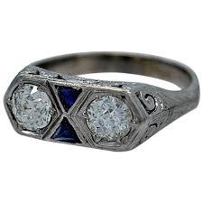 34 best beautiful art deco sapphire engagement rings eternity