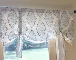 Tie Up Curtain Shade Tie Up Curtain Etsy
