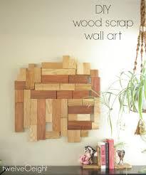 diy scrap wood wall hanging twelveoeight