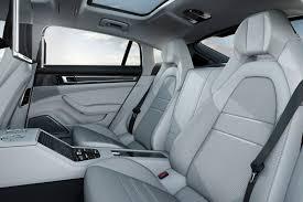 porsche panamera turbo interior panamera hat trick porsche adds new turbo v6 executive variant