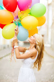 woman balloons stock photos u0026 pictures royalty free woman