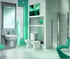 tiles design green light turquoise colors for bathroom design