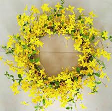 forsythia wreath forsythia wreath