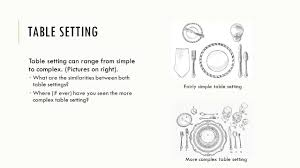 manners u0026 table etiquette ppt download