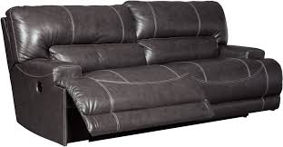 mccaskill gray 2 seat power reclining sofa from ashley coleman
