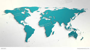 map logo folding or rolling world map design element for intro logo reveal
