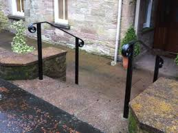 Handrailing Best 25 Exterior Handrail Ideas On Pinterest Steel Handrail