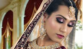 purple and silver glitter stani indian traditional bridal makeup tutorial 2016 09 01