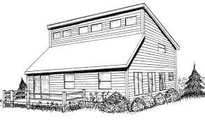 Box House Plans Salt Box House With Clerestory Cabins Pinterest Clerestory