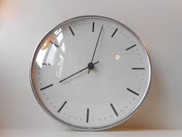 vintage danish city hall wall clock by arne jacobsen for gefa
