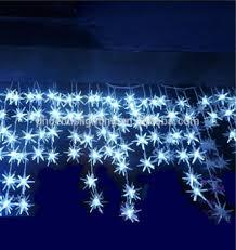 led dripping icicle christmas lights led christmas dripping star icicle light buy dripping icicle light